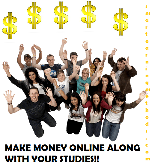 How can students earn money at home