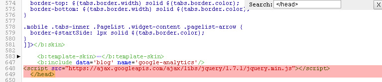 the blogger code for form