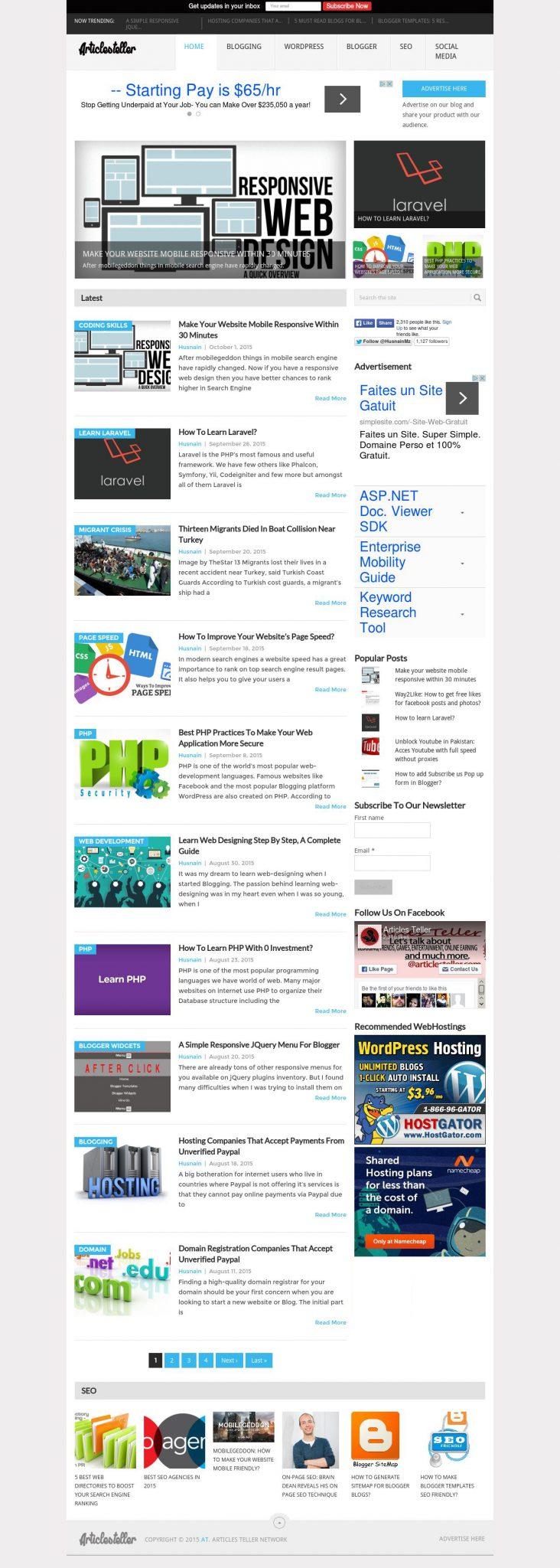 Articles Teller