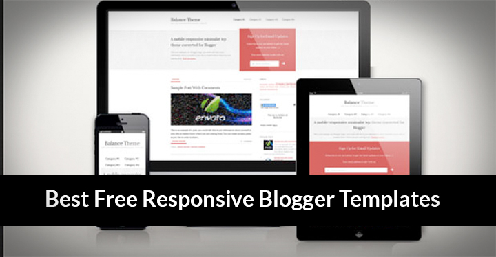 Blogger Templates: 5 responsive blogger templates for free