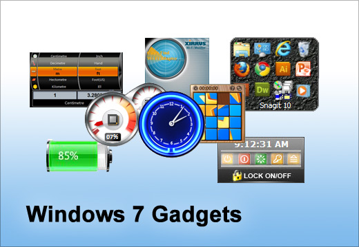 5 Must use gadgets for Windows 7