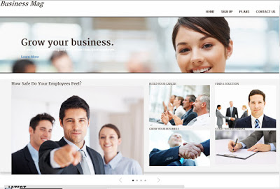 Business Mag - Blogger Template