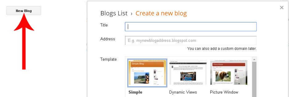 Create your own blogger template from scratch articles for How to create your own blog template