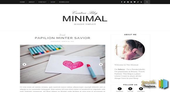 Clean Blogger Templates Best Free Blogger Templates in 2016