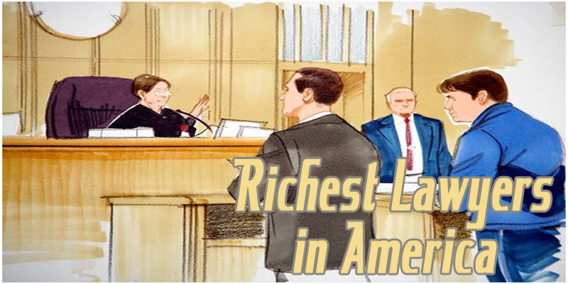 richest lawyers in America in 2016
