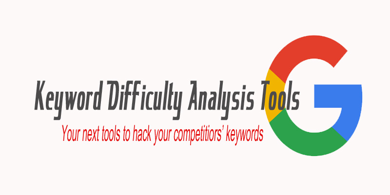 Keyword difficulty tools