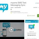 mysms SMS text app for free messaging