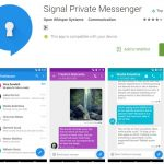 signal private messenger - texting apps that are untraceable