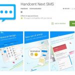 free texting apps for android - Handcent next SMS