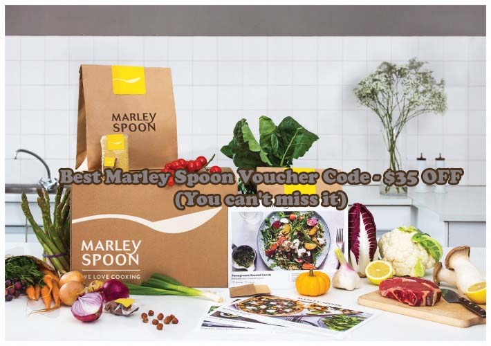 Marley Spoon Voucher Code - Get up to $35 off on your first delivery