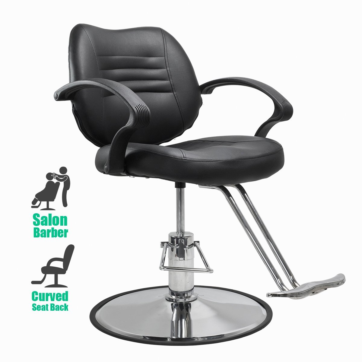 barber chair classic style hydraulic adjustment salon beauty equipment