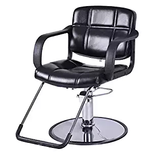 Giantex Classic Hydraulic Barber Chair Salon Beauty Spa Shampoo Hair Styling Equipment