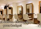 best salon chairs in your budget
