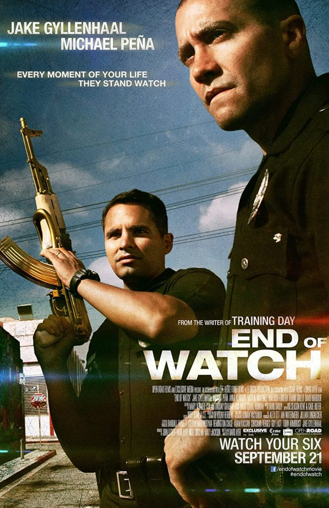 Character in End of Watch